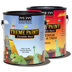 Modern Masters Theme Paint